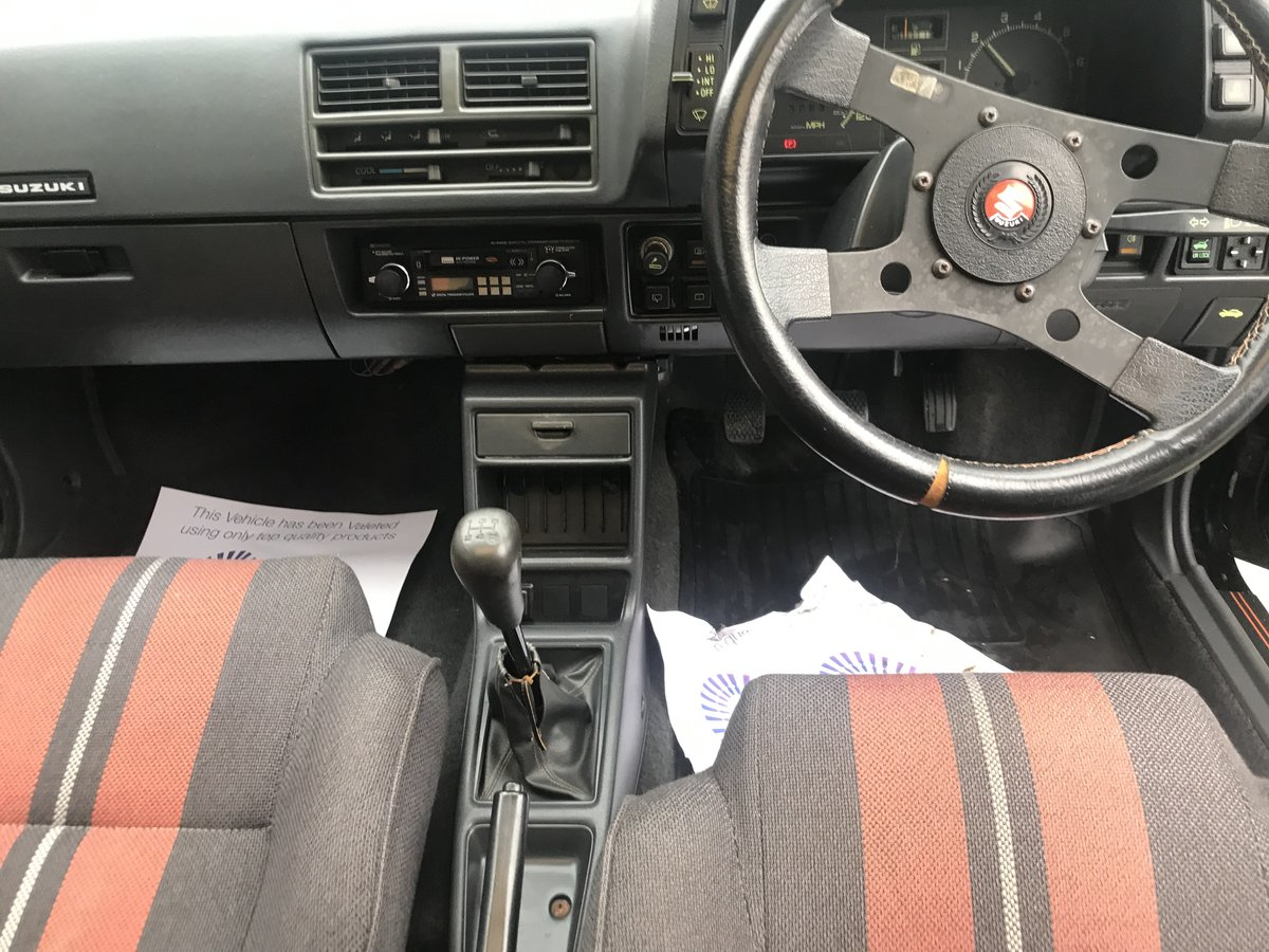 1986 Suzuki Swift 28 k miles For Sale (picture 5 of 6)