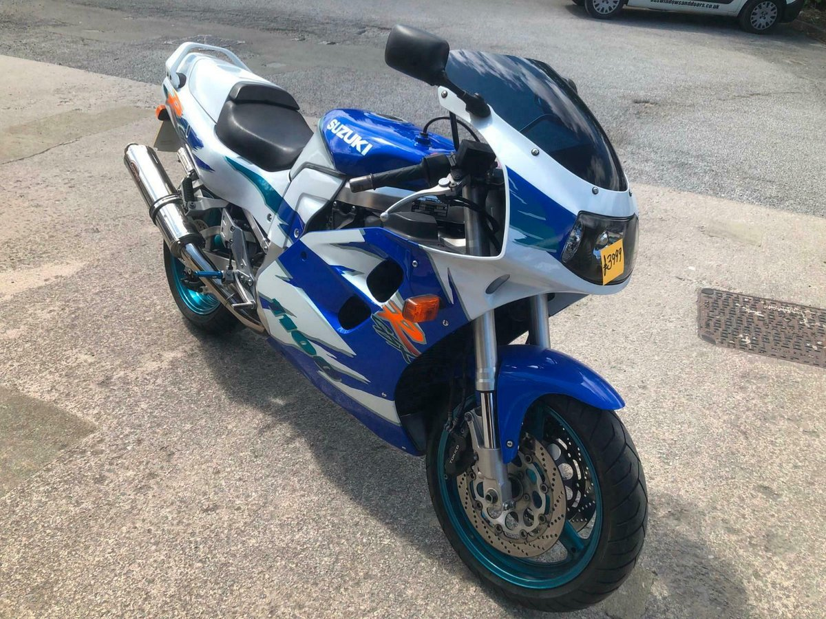 SUZUKI GSXR 1100 1996 STOCK CLEARANCE For Sale (picture 1 of 6)