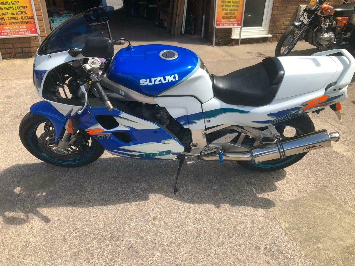 SUZUKI GSXR 1100 1996 STOCK CLEARANCE For Sale (picture 5 of 6)