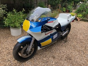 1981/82 Suzuki RGB 500 MK7/8 F1 GP Race Bike For Sale by Auction