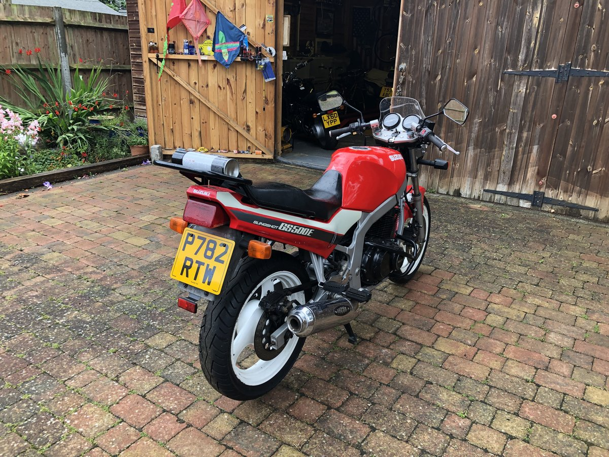 1997 SUZUKI GS 500 SLING SHOT For Sale | Car And Classic
