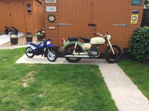 1976 Suzuki b120 running project mot & tax exempt