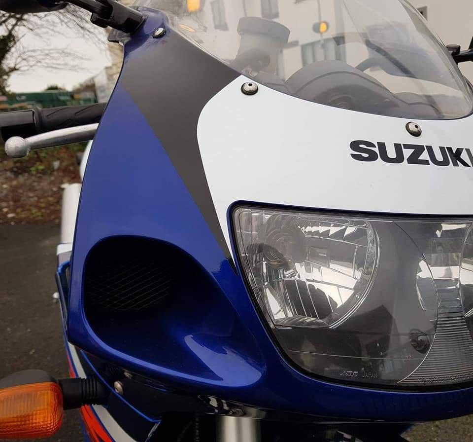 1999 Suzuki GSX-R 750 SRAD 1,900 Miles  For Sale (picture 3 of 6)