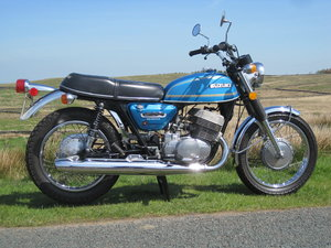 1975 Suzuki T500M, V Low Mileage,Nice Original Cond For Sale