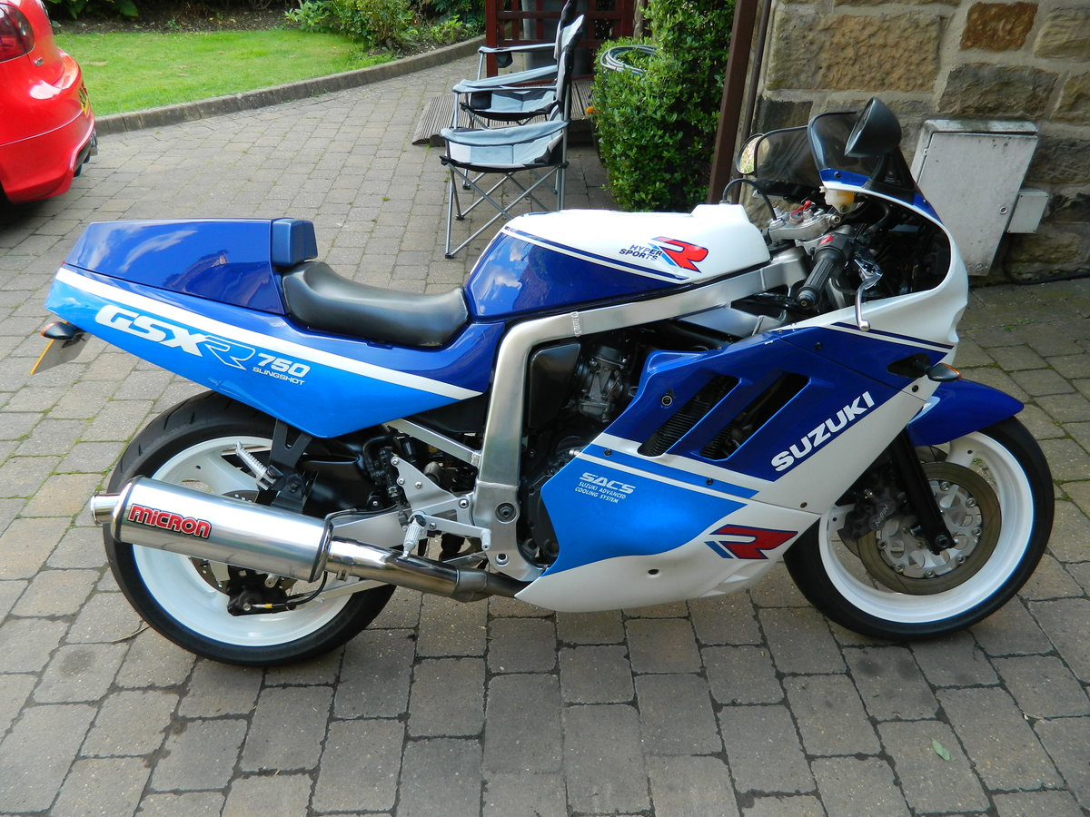 1988 Suzuki GSX-R750 Restored 2018 For Sale (picture 1 of 6)