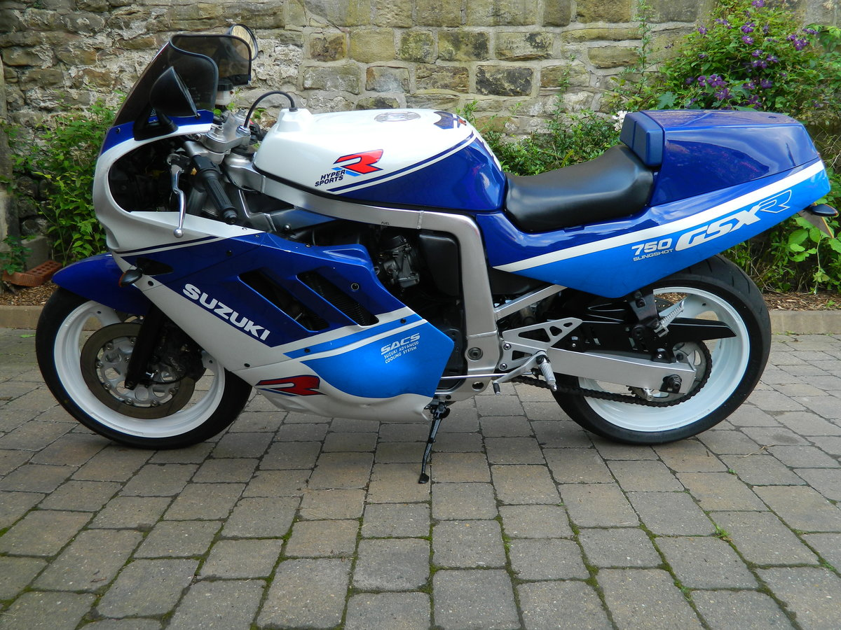 1988 Suzuki GSX-R750 Restored 2018 For Sale (picture 2 of 6)