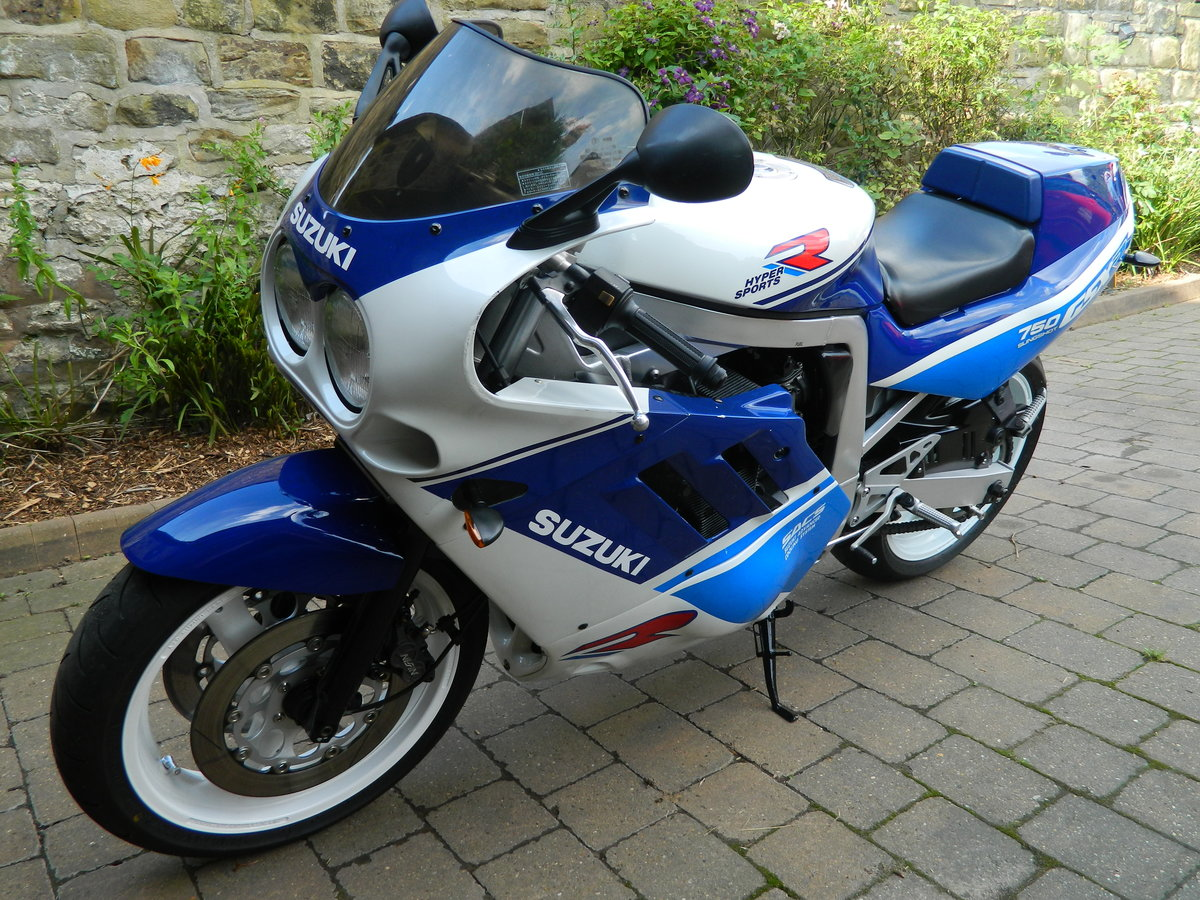 1988 Suzuki GSX-R750 Restored 2018 For Sale (picture 3 of 6)