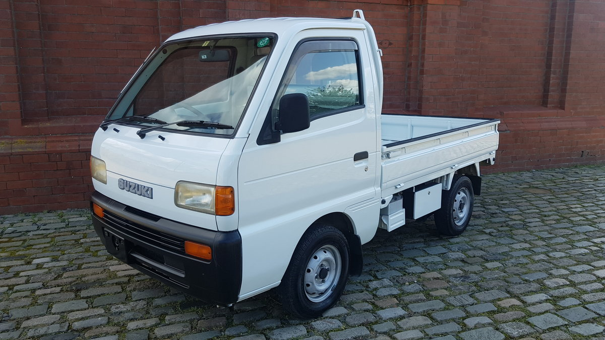 1995 SUZUKI CARRY PICK UP * ONLY 15191 MILES 4 WHEEL DRIVE 4X4 SOLD (picture 1 of 6)