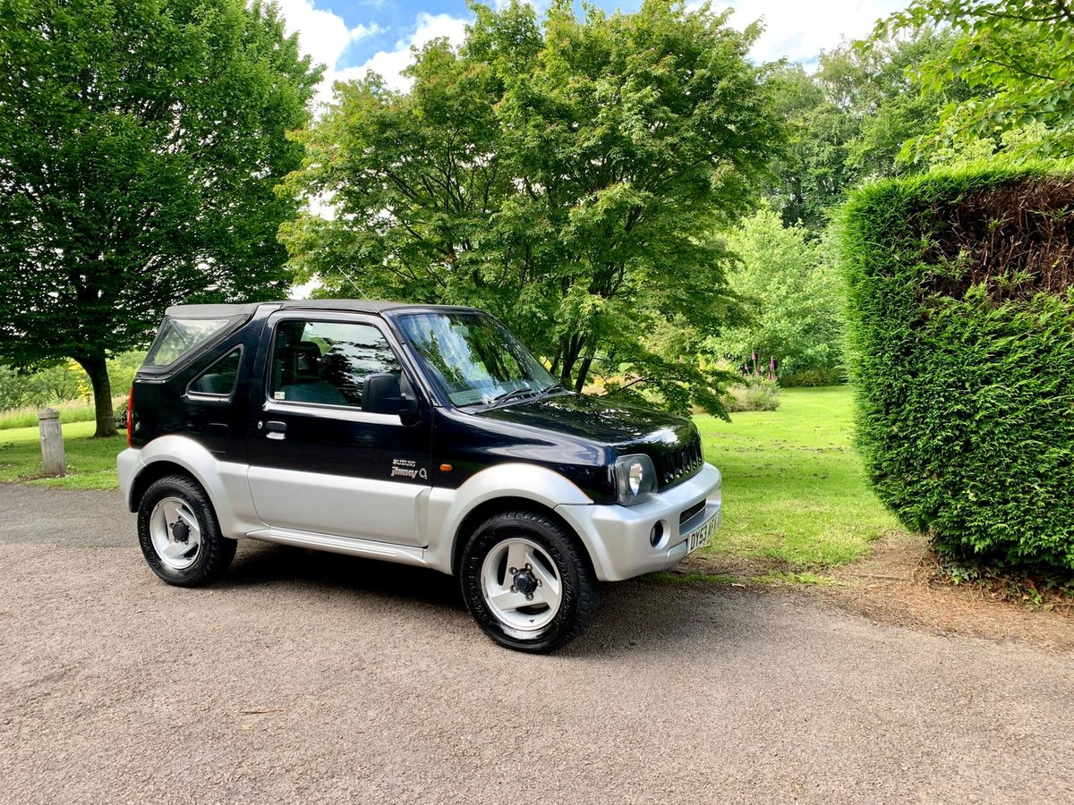 2003 Suzuki jimny o2 jlx soft top! 54k miles! (53) For Sale (picture 1 of 6)
