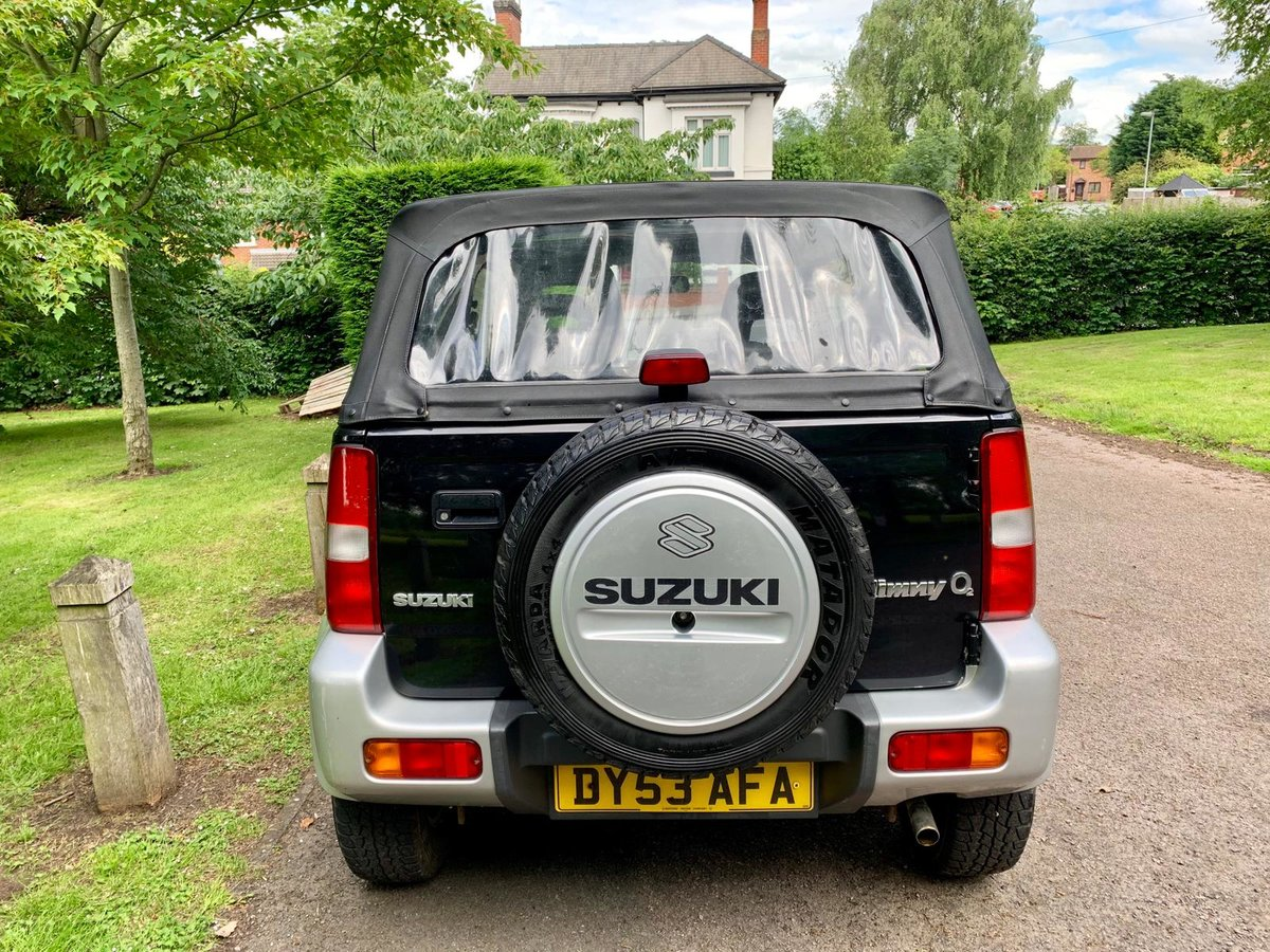 2003 Suzuki jimny o2 jlx soft top! 54k miles! (53) For Sale (picture 4 of 6)