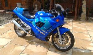 1993 Stunning electric Blue Suzuki GSX 750 F