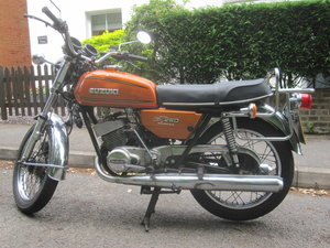 1977 Suzuki GT250 New home required! For Sale