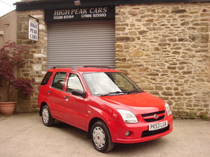 2003 53 SUZUKI IGNIS 1.5VVT GL 4GRIP 5DR. 4X4. SUPERB.   For Sale