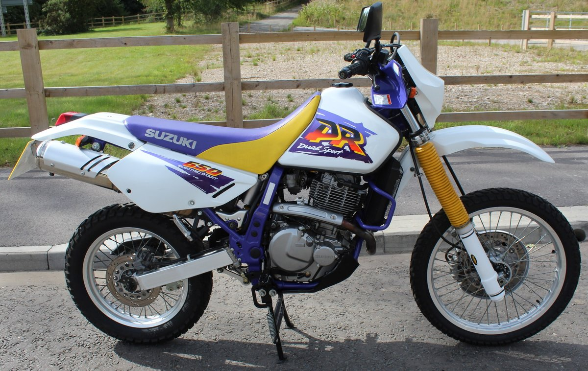 1998 Suzuki DR650 SE (Electric Start)  8,000 miles from new  SOLD (picture 1 of 6)