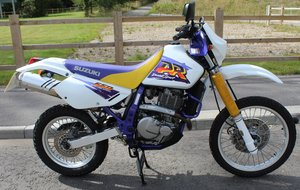 1998 Suzuki DR650 SE (Electric Start)  8,000 miles from new  SOLD