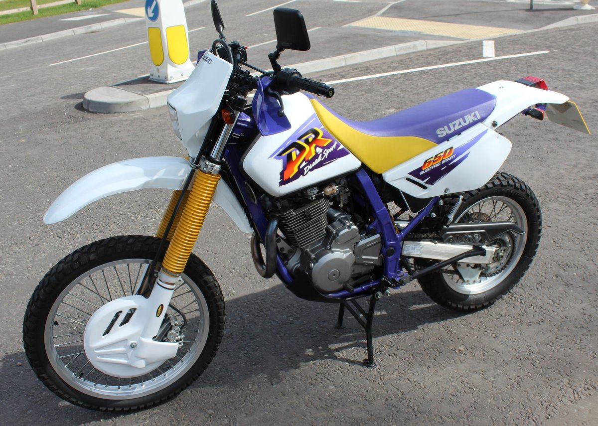 1998 Suzuki DR650 SE (Electric Start)  8,000 miles from new  SOLD (picture 3 of 6)