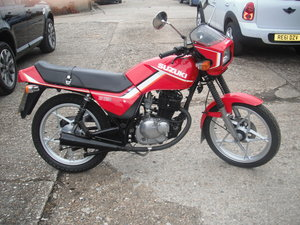 1983 Suzuki GS 125 S     VERY LOW MILEAGE For Sale