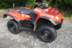 2016 SUZUKI KING QUAD  MAIN DEALER PX VERY TIDY LO HRS QUAD