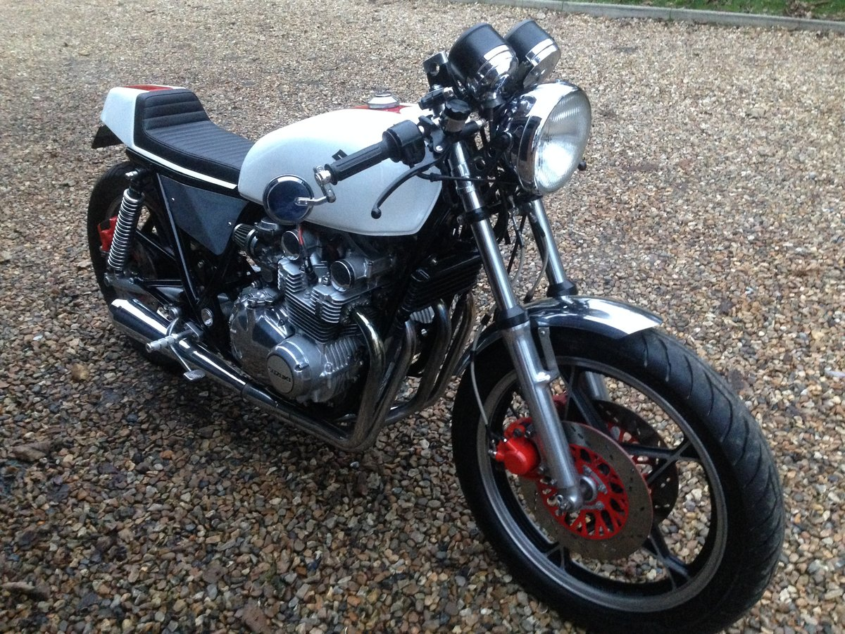 1981 Suzuki gs650 cafe racer For Sale (picture 1 of 6)