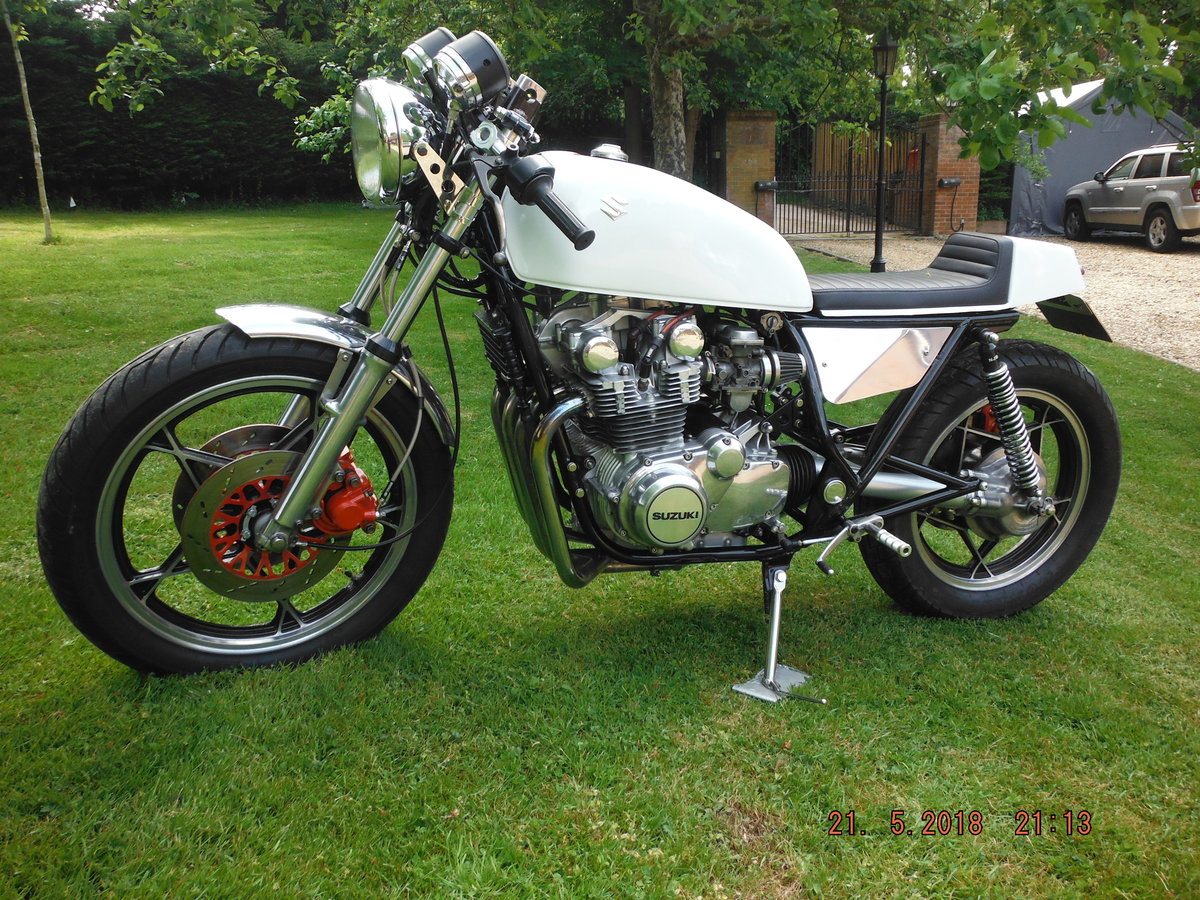 1981 Suzuki gs650 cafe racer For Sale (picture 3 of 6)