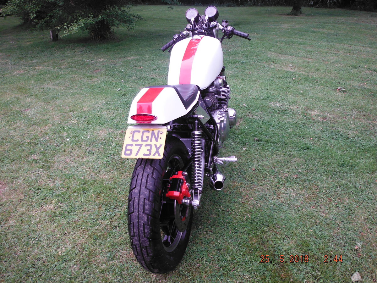 1981 Suzuki gs650 cafe racer For Sale (picture 4 of 6)