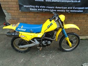 SUZUKI DR100 G MINI TRAILS BIKE(1986) YELLOW US IMPORT! For Sale