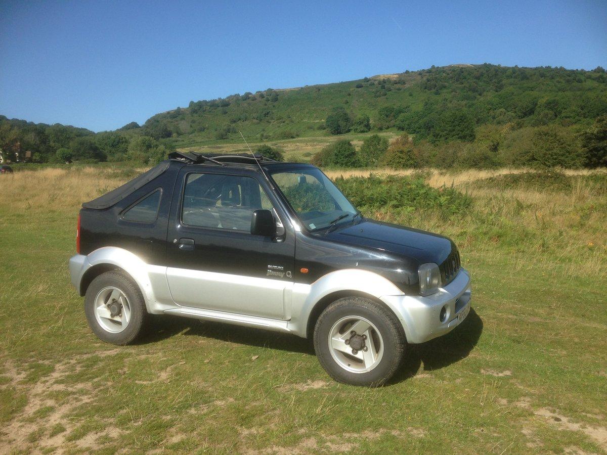 2003 Suzuki jimny convertible For Sale (picture 1 of 3)