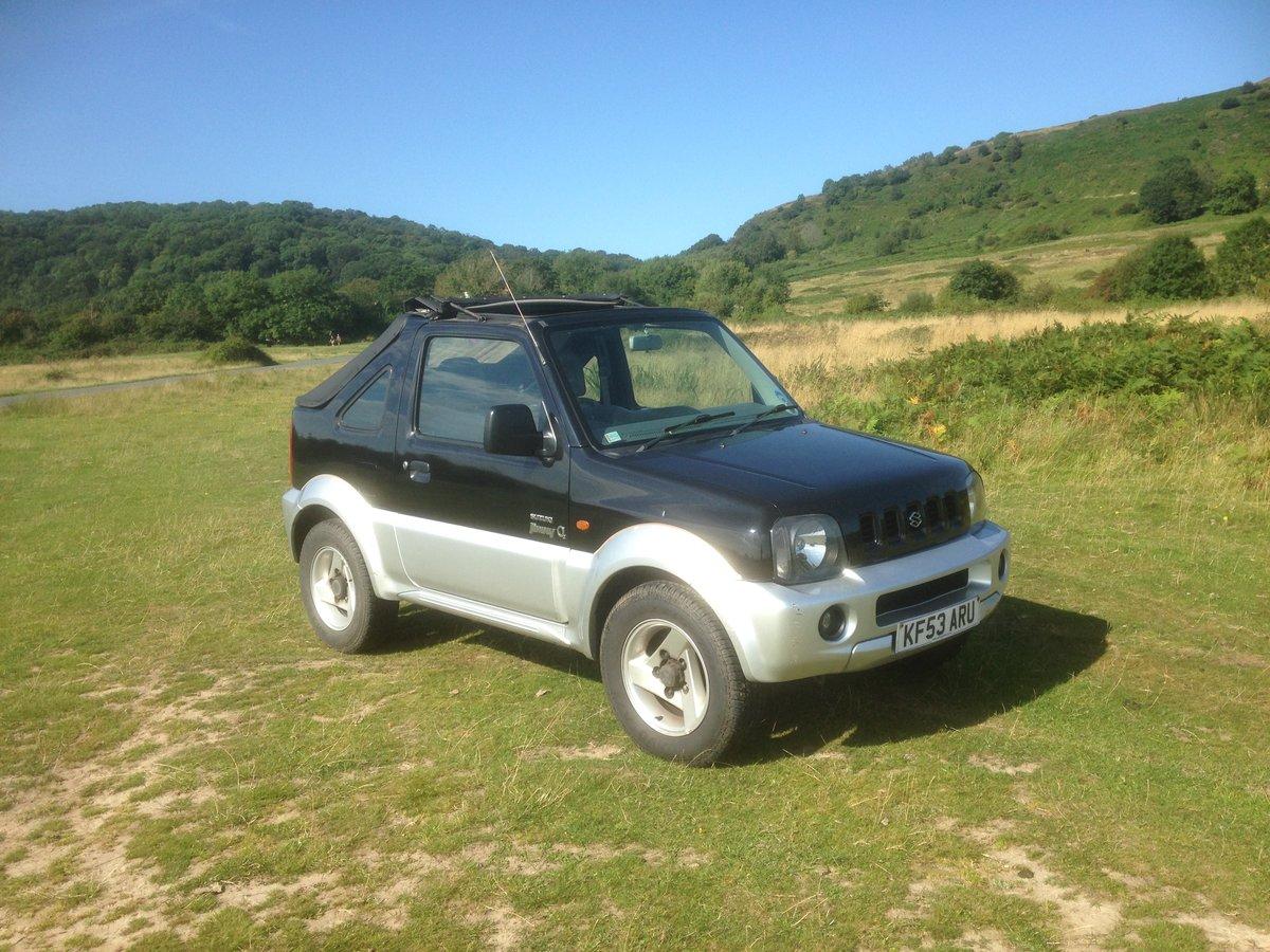 2003 Suzuki jimny convertible For Sale (picture 2 of 3)