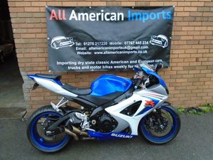 SUZUKI GSXR1000 BIKE (2008) BLUE/WHITE US IMPORT!
