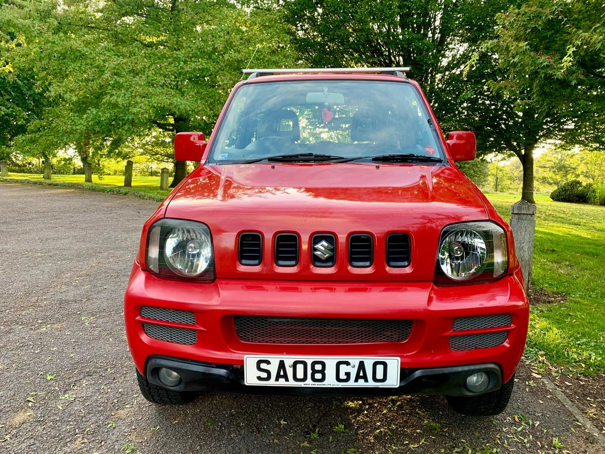 2008 SUZUKI JIMNY JLX! 84K MILES WITH FSH! VVT! For Sale (picture 2 of 6)