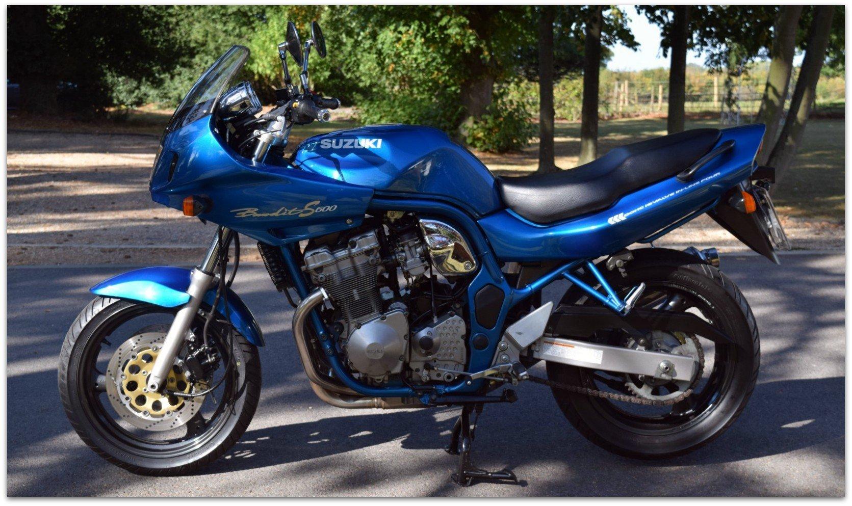 1998 Suzuki 600 bandit just 15k miles! SOLD (picture 3 of 6)