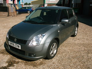 Suzuki Swift vvts glx AUTO.  2006 SOLD