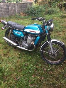 1971 Suzuki Gt750j.Blue