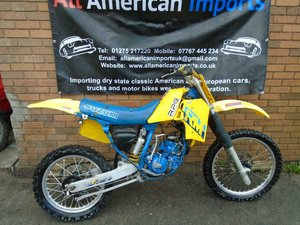 SUZUKI RM125 ENDURO TRAILS BIKE(1987) YELLOW US IMPORT! For Sale