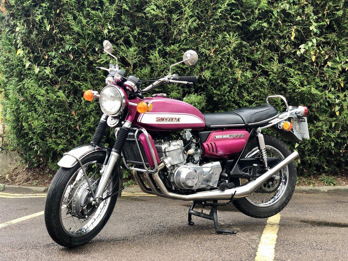 1972 Suzuki GT750 J Drum Brake Model. Awesome Machine !!! For Sale (picture 2 of 6)
