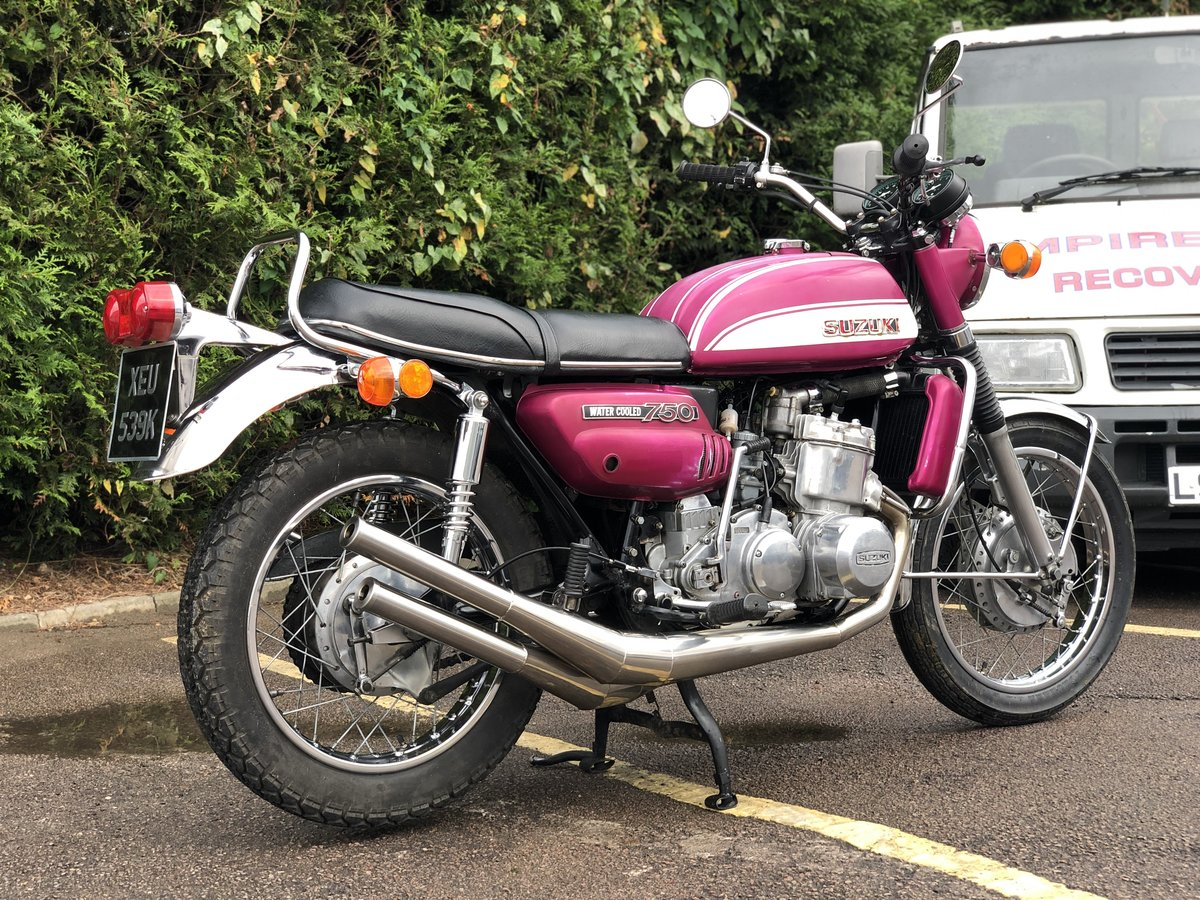 1972 Suzuki GT750 J Drum Brake Model. Awesome Machine !!! For Sale (picture 3 of 6)
