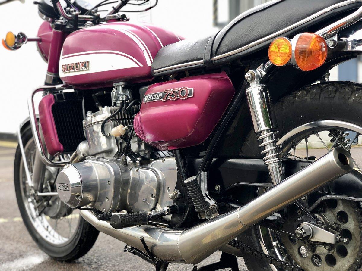 1972 Suzuki GT750 J Drum Brake Model. Awesome Machine !!! For Sale (picture 4 of 6)