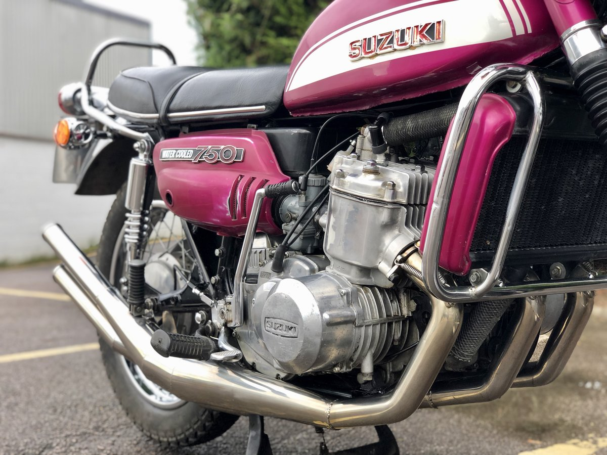 1972 Suzuki GT750 J Drum Brake Model. Awesome Machine !!! For Sale (picture 5 of 6)