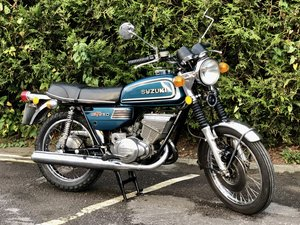 Picture of Suzuki GT 250 Ram Air 1974 Uk Model SOLD
