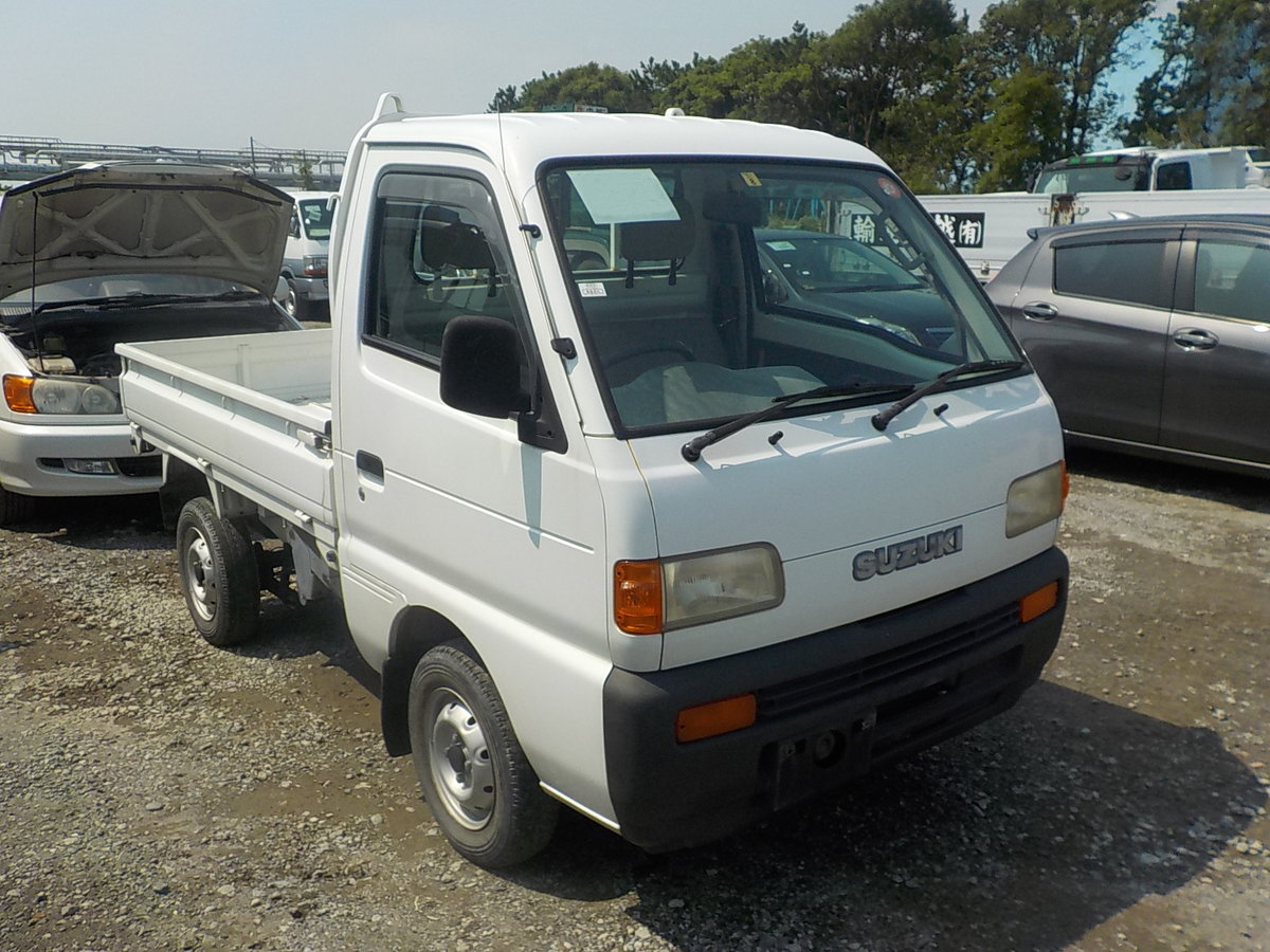 1997 SUZUKI CARRY TRUCK 660CC MANUAL TIPPER 4X4 ONLY 17000 MILES For Sale (picture 1 of 5)