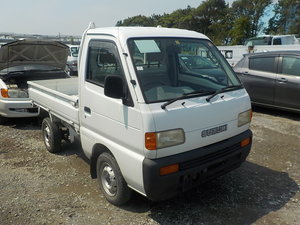 1997 SUZUKI CARRY TRUCK 660CC MANUAL TIPPER 4X4 ONLY 17000 MILES For Sale