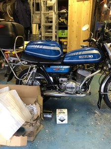1978 GT250 C suzuki two stroke one of the last classic