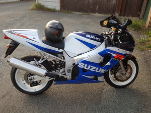 2002 Suzuki GSXR 600 K1 Low miles For Sale