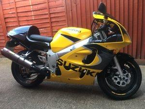 2000 SUZUKI GSXR 600 SRAD For Sale