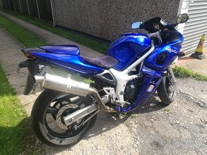 2001 Suzuki SV650s  low mlg tuned