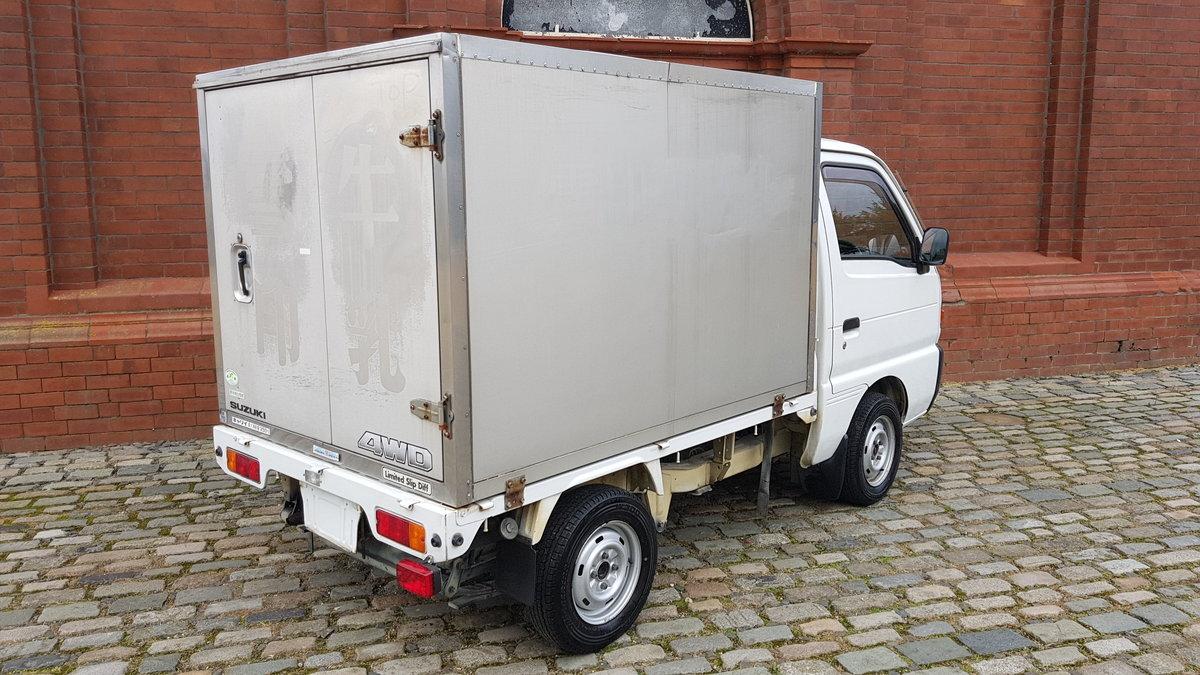 1998 SUZUKI CARRY TRUCK 660CC 4X4 DIFF LOCK PICKUP REAR CARGO BOX For Sale (picture 2 of 6)