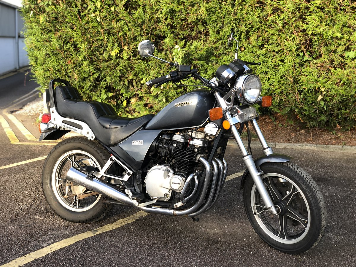 Suzuki GS550L 1983. In good usable condition 8489 Miles For Sale (picture 1 of 6)
