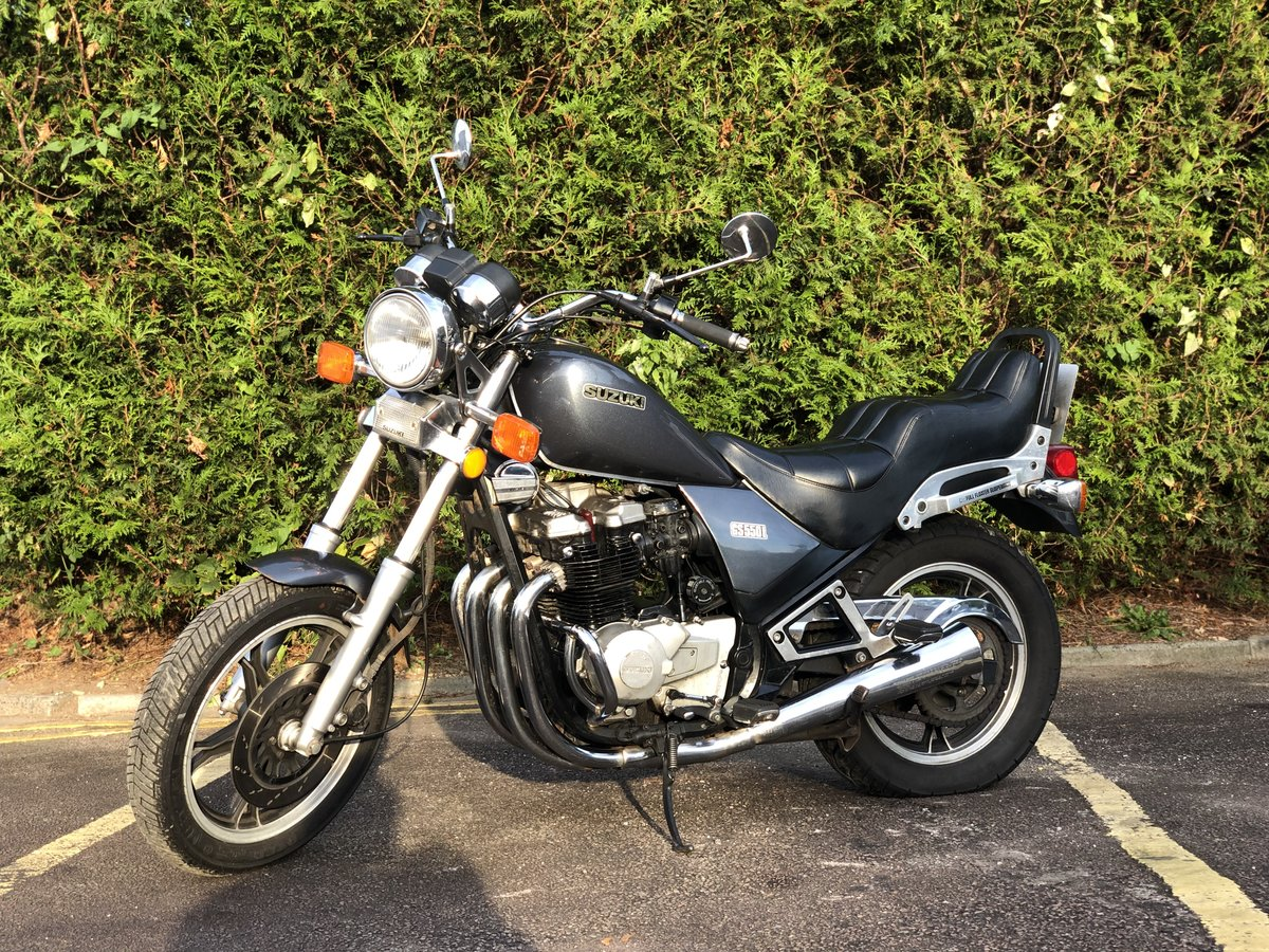 Suzuki GS550L 1983. In good usable condition 8489 Miles For Sale (picture 2 of 6)