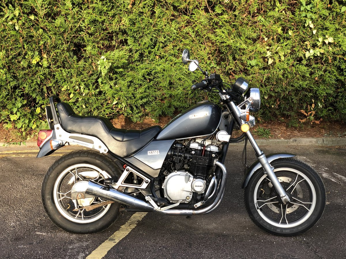 Suzuki GS550L 1983. In good usable condition 8489 Miles For Sale (picture 3 of 6)