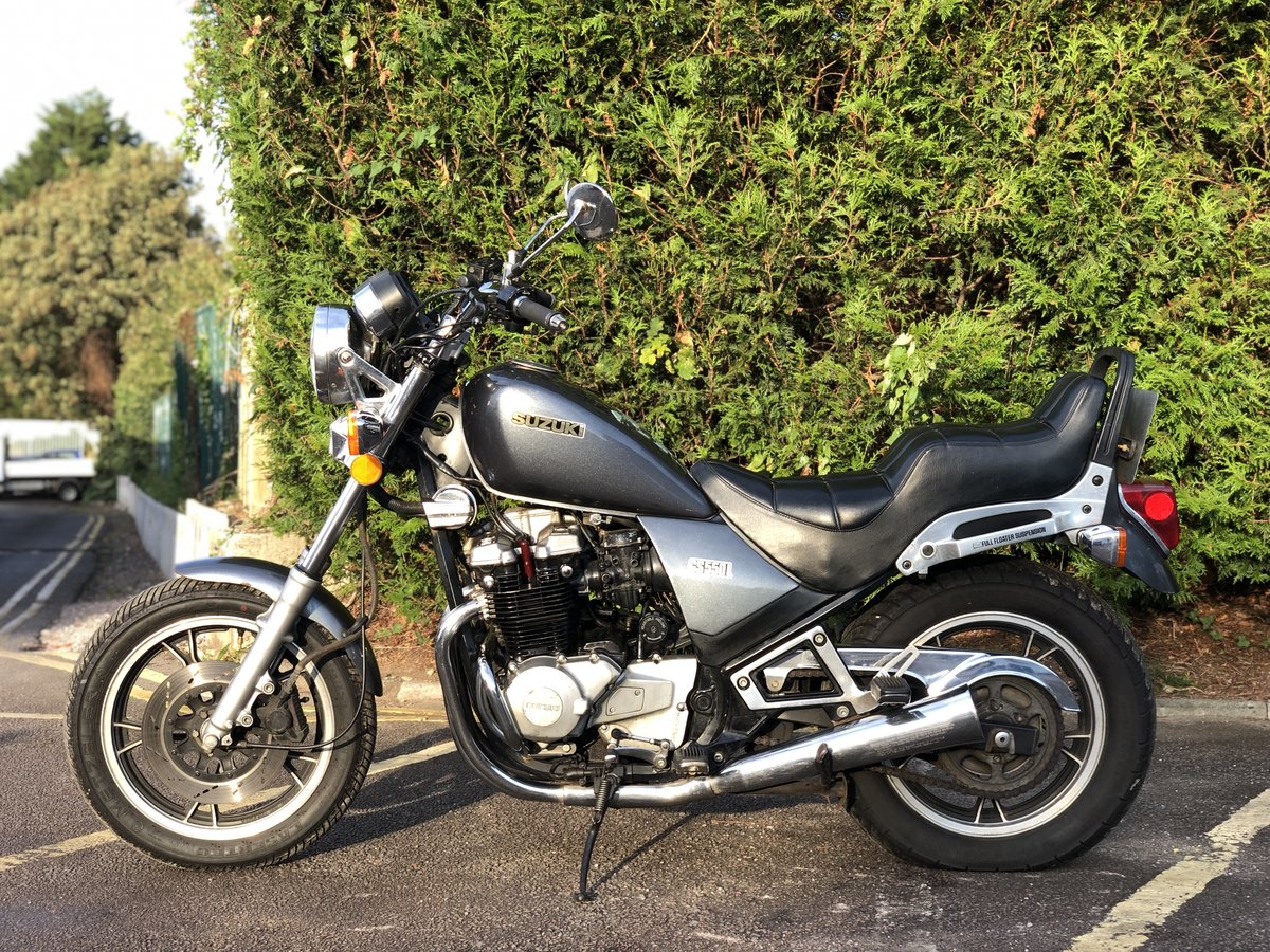 Suzuki GS550L 1983. In good usable condition 8489 Miles For Sale (picture 4 of 6)